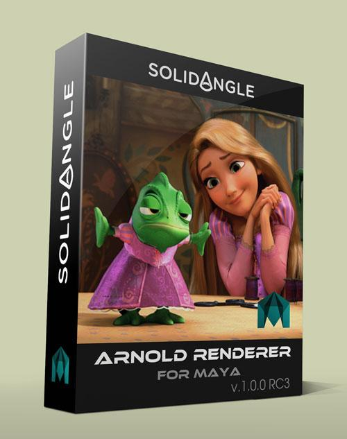 SolidAngle Maya To Arnold (MtoA) v.1.0.0 RC3 For Maya 2013 – 2014 WIN