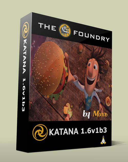 The Foundry KATANA 1.6v1b3 Linux64