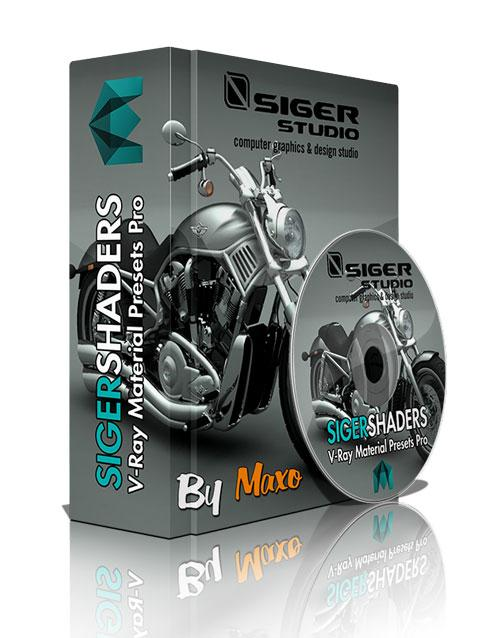 SIGERSHADERS V-Ray Material Presets Pro 1.0.2 For Maya 2012 – 2014 x64bit Win
