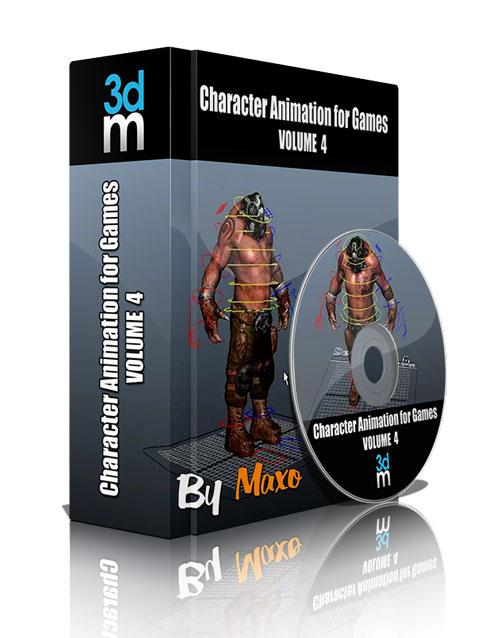 3DMotive: Character Animation for Games Volume 4