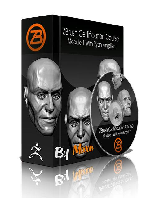 ZbrushWorkshops: ZBrush Certification Course – Module 1 With Ryan Kingslien