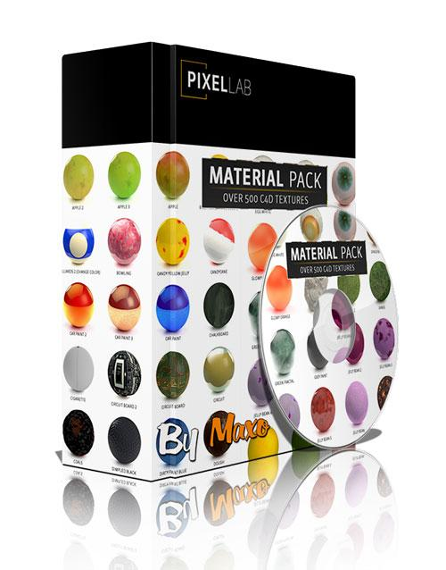 The Pixel Lab Material Pack for Cinema4D
