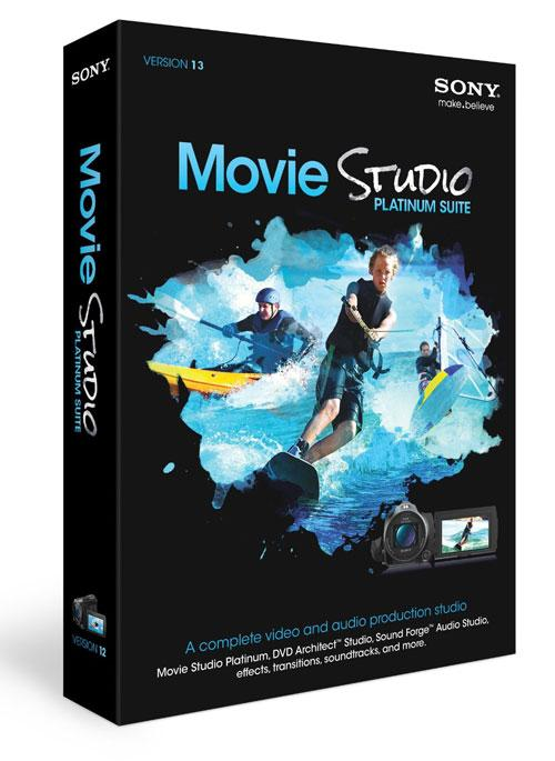 Sony Vegas Movie Studio Platinum 13.0 Build 879 x64bit