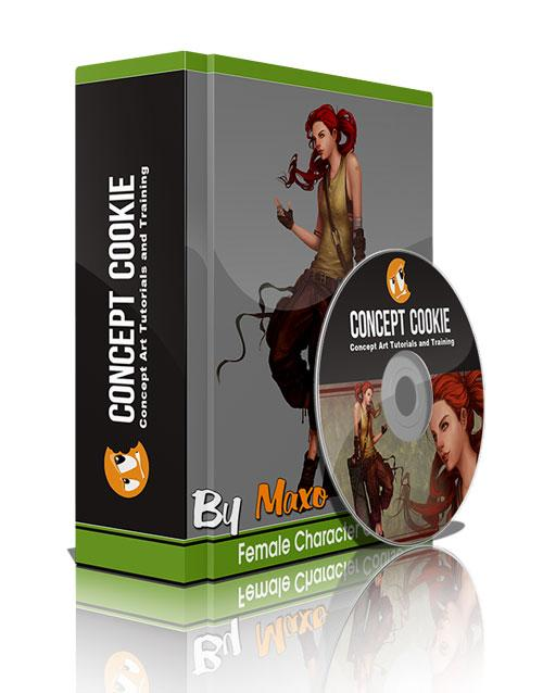 ConceptCookie: Female Character Course