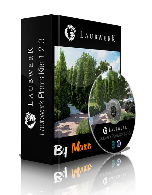 Laubwerks Plants Kits 1/2/3 v.1.08 For Cinema 4D and 3ds Max Win
