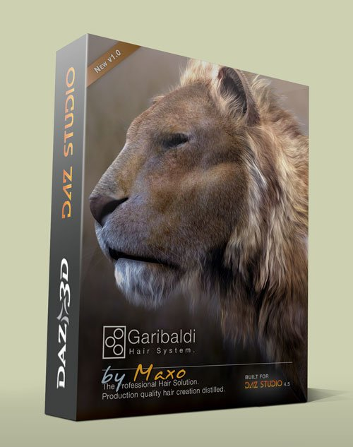FutureBiscuit Garibaldi Express Hair System v.1.1.0.5 For DAZ Studio v.4.6 Win