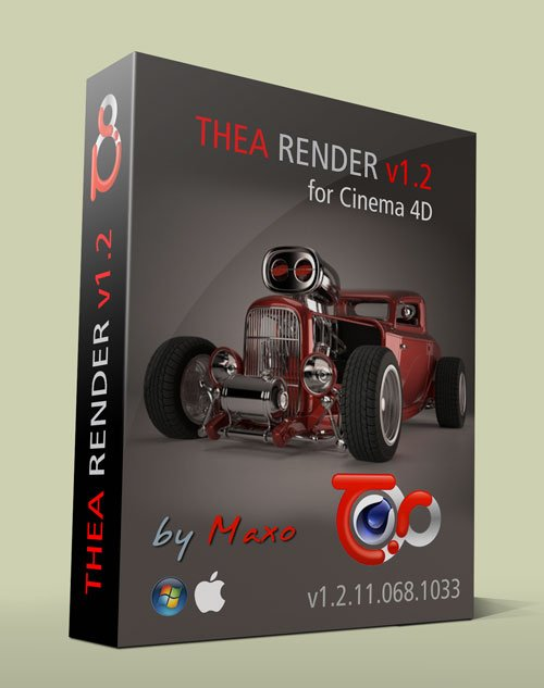 Thea Render v.1.2.11.068.1033 for Cinema 4D R12/R15 Win/Mac