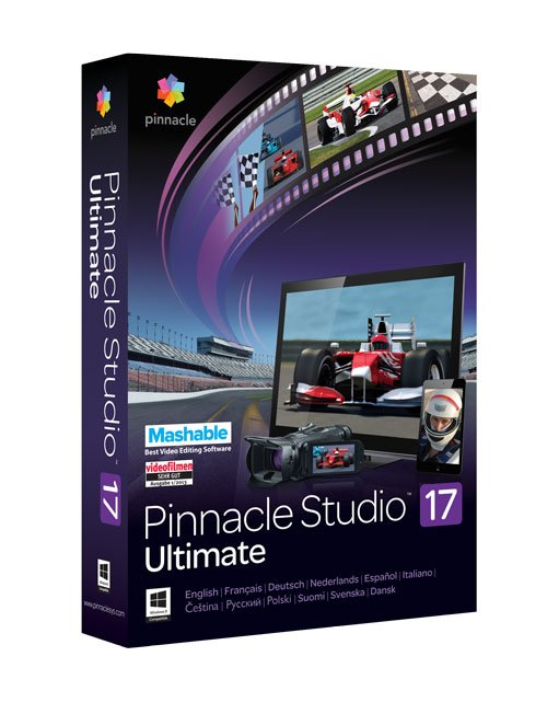 Pinnacle Studio Ultimate 17.1 and Content Pack Win