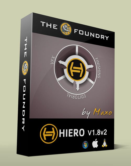 The Foundry Hiero 1.8v2 - Win/Mac/Linux