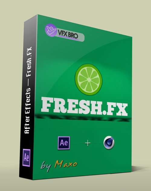 Vfxbro: Fresh.FX - Alphabetic - Motion Graphics Training