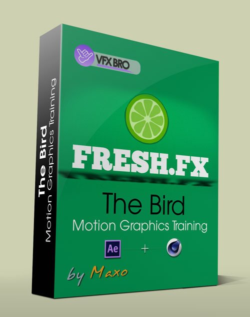 VFXBro: Fresh.FX - The Bird - Motion Graphics Training in After Effect