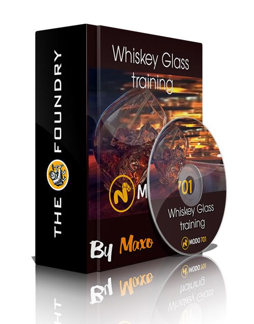 The Foundry Modo: Whiskey Glass training