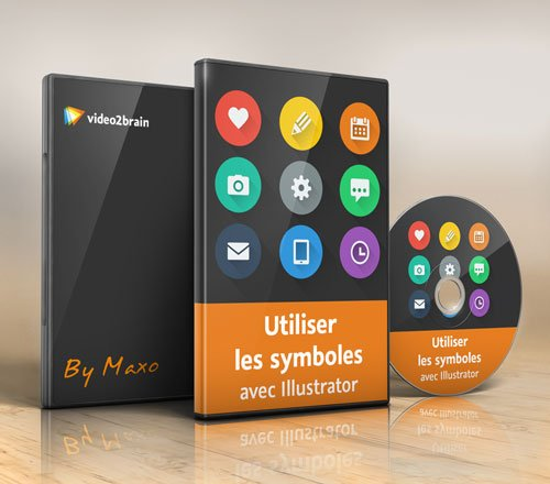 video2brain: Use symbols with Illustrator (French)