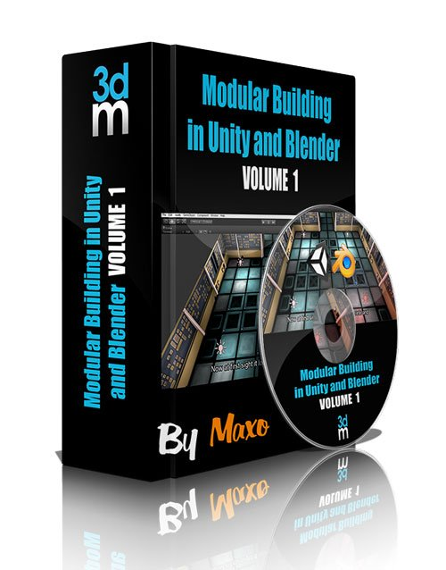 3DMotive: Modular Building in Unity and Blender vol.1