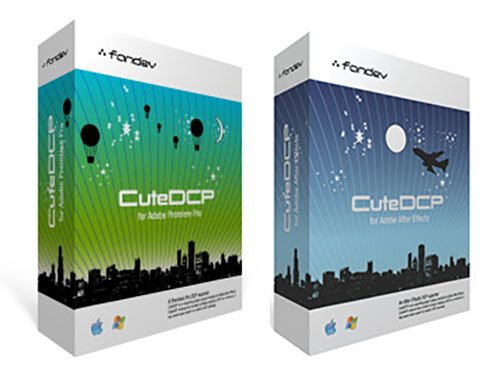 FanDev CuteDCP v.1.2.1 for After Effects / Premiere Pro