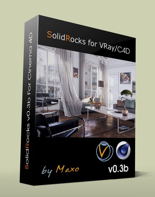 SolidRocks v0.3b For Cinema 4D x64bit Win