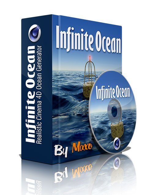 Infinite Ocean v1.34 For Cinema 4D R12 - R15 Win
