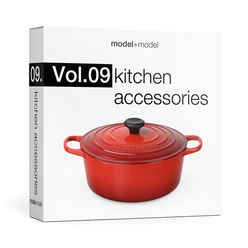 Model+Model: Vol.09 Kitchen accessories