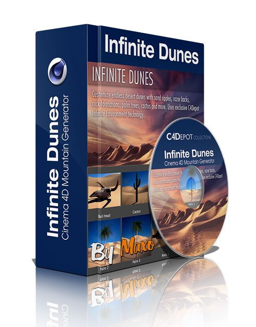 Infinite Dunes for Cinema 4D
