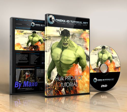 Cinema 4D Tutorial: Hulk Project Tutorial