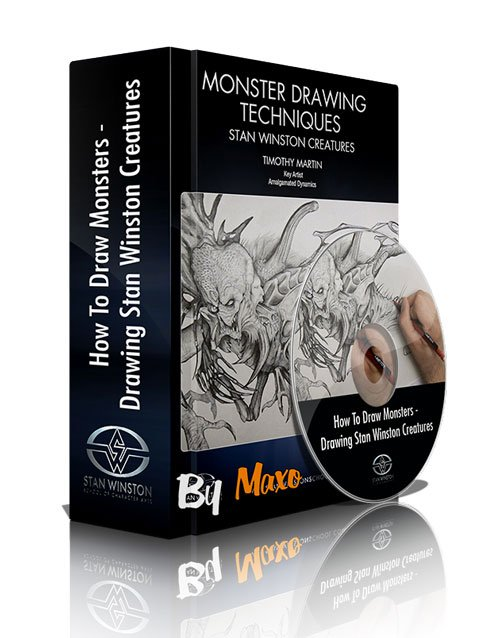 Stan Winston School: How To Draw Monsters - Drawing Stan Winston Creatures