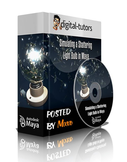 Digital - Tutors: Simulating a Shattering Light Bulb in Maya
