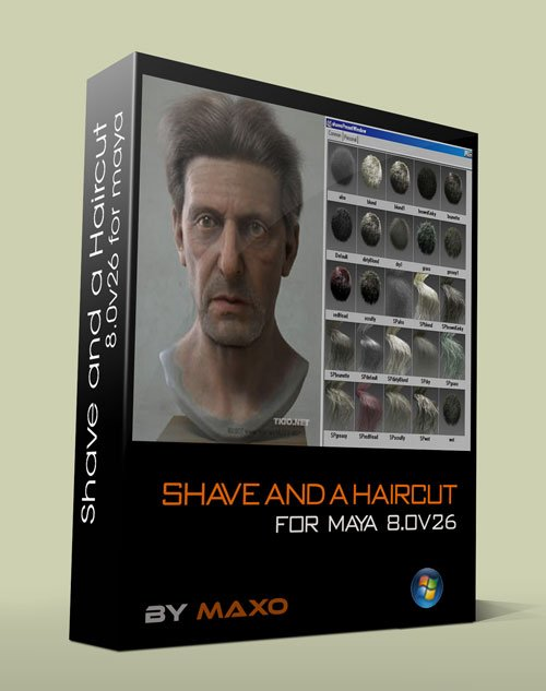 JoeAlter Shave & A Haircut 8.0v26 For Maya 2012 - 2014 x64 Win
