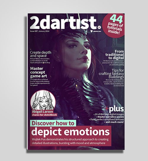2DArtist : Issue 097, January 2014