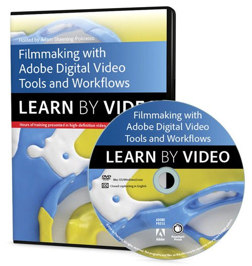 PeachPit – Filmmaking Workflows with Adobe Pro Video Tools: Learn by Video
