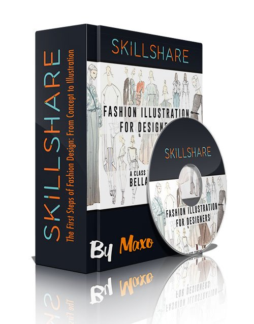 Skillshare - The First Steps of Fashion Design: From Concept to Illustration