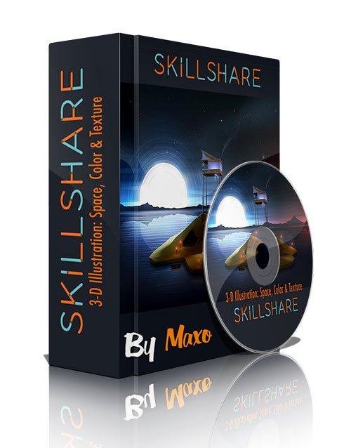 Skillshare: 3-D Illustration: Space, Color & Texture