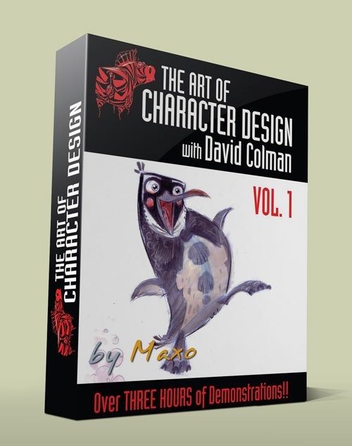 The Art of Character Design Volume I