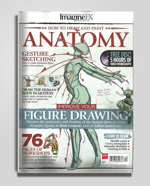 ImagineFX Presents - How to Draw and Paint Anatomy Volume 2