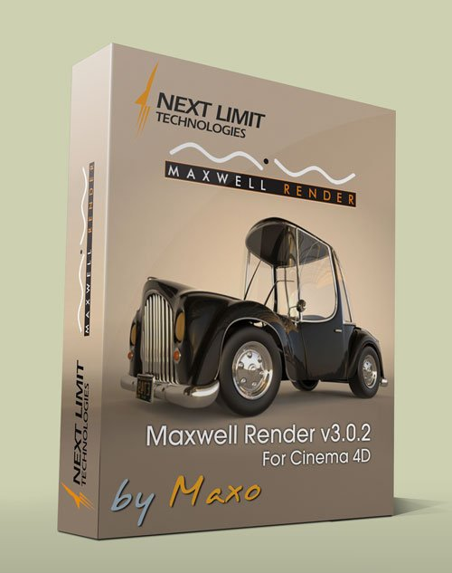 NextLimit Maxwell Render 3.0.2 For Cinema 4D R14 - R15 x64 Win