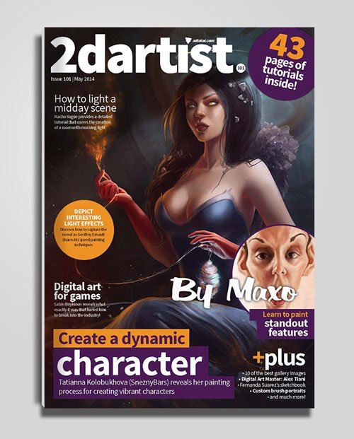 2dartist: Issue 101 - May 2014
