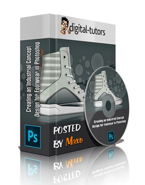 Digital - Tutors: Creating an Industrial Concept Design for Footwear in Photoshop