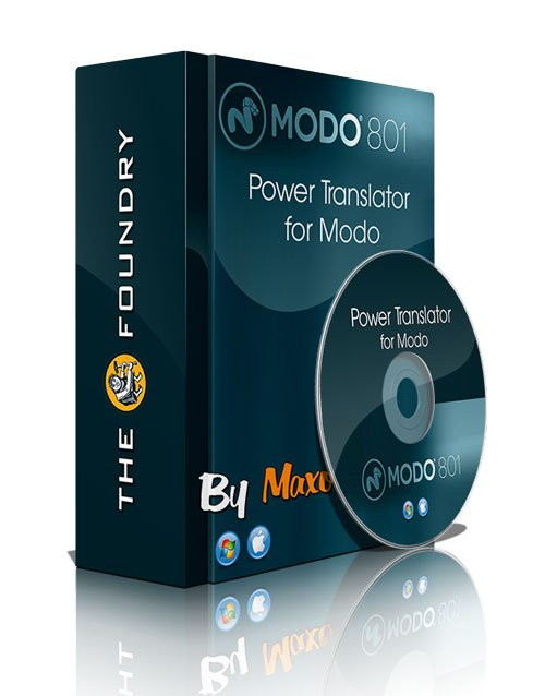 The Foundry Power Translator v1.1 for Modo 801 SP1 Win/Mac