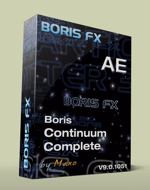 Boris Continuum Complete v9.0.1051 for After Effects x64bit Win