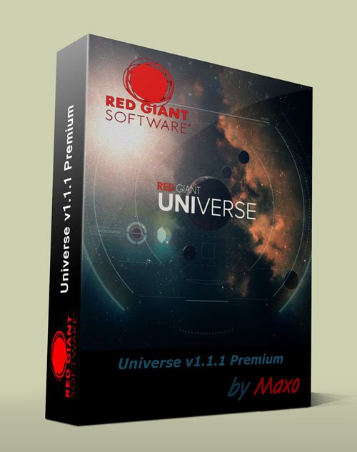 Red Giant Universe v1.1.1 Premium Win64