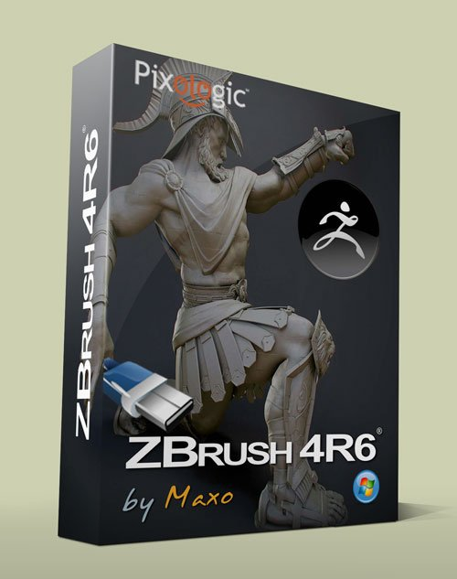 Pixologic Zbrush 4 R6 Win Portable