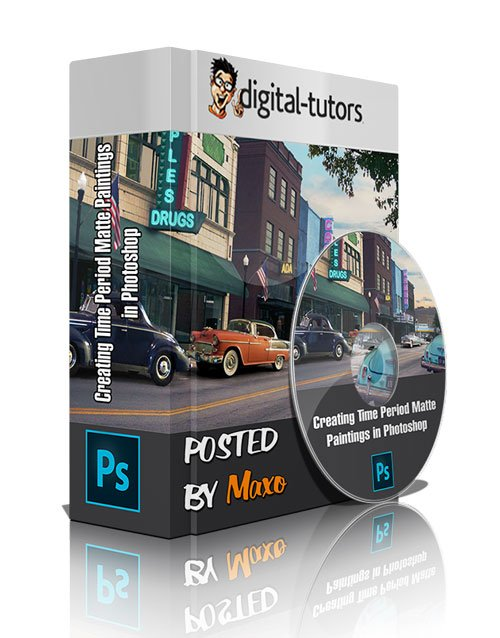 Digital - Tutors: Creating Time Period Matte Paintings in Photoshop