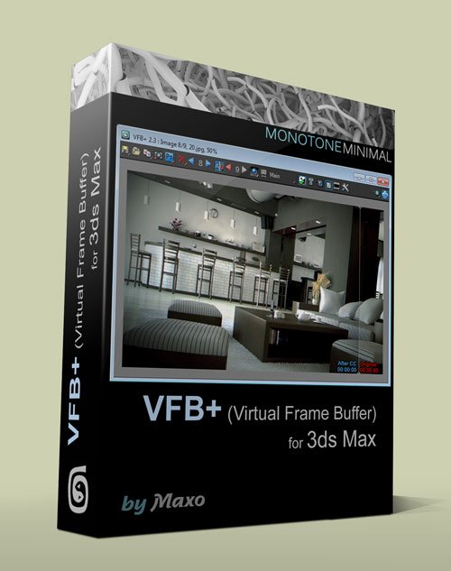 VFB+ v2.45 For 3ds Max 2011 - 2015 Win
