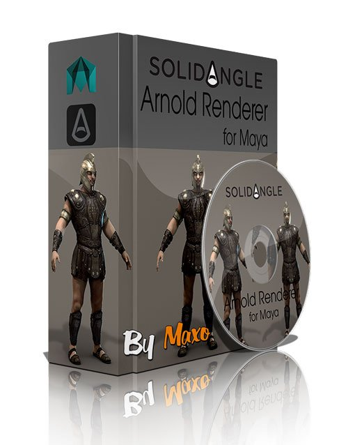 SolidAngle Arnold (MtoA) v1.1.0.4 For Maya