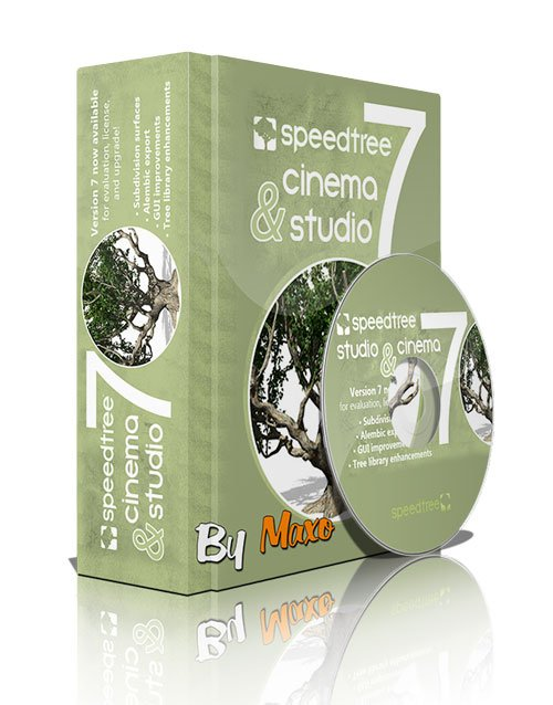 SpeedTree Cinema v7.07 Win/Mac/Linux - XFORCE
