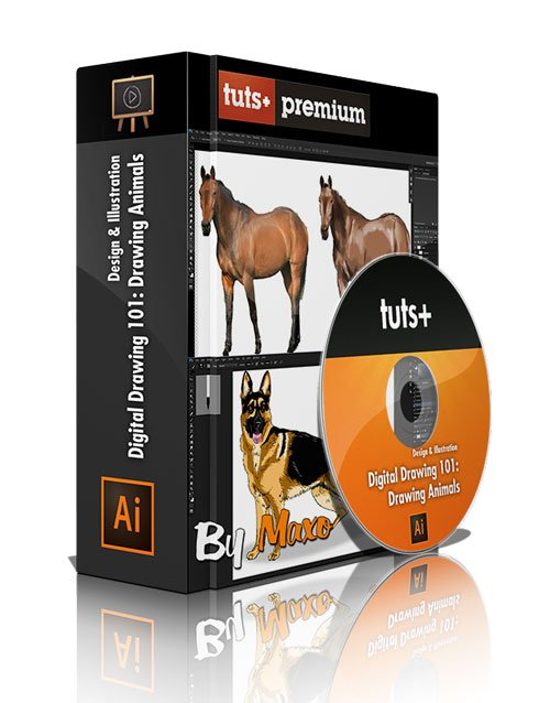 Tuts+ Premium - Digital Drawing 101: Drawing Animals with Kirk Nelson