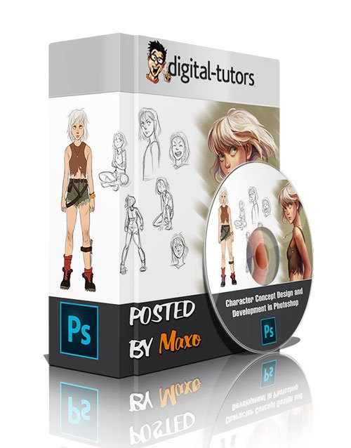 Digital - Tutors: Character Concept Design and Development in Photoshop
