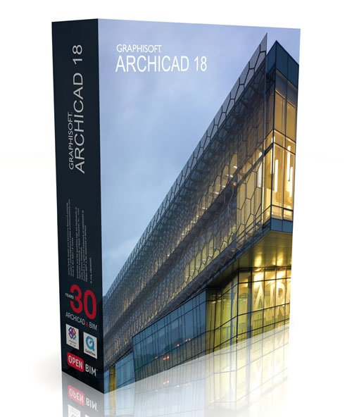 Graphisoft ArchiCAD 18 Build 3006 Mac