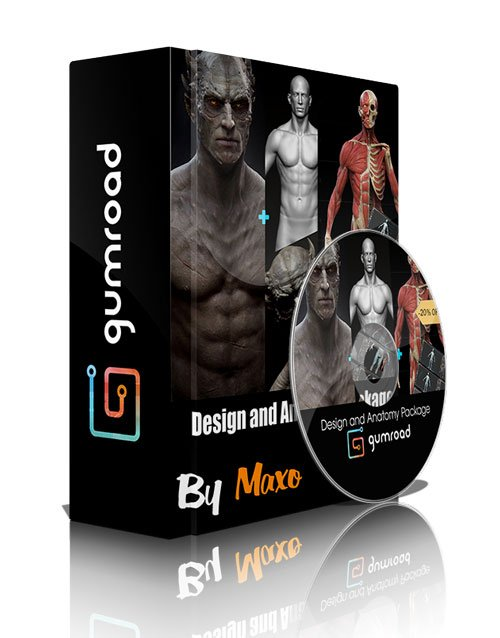 Rafael Grassetti: Design and Anatomy Package in ZBrush