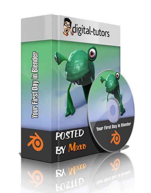Digital Tutors - Your First Day in Blender