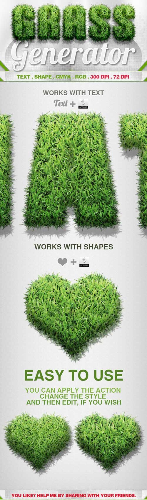 GraphicRiver - Grass Generator » 3Ds Portal - CG Resources ...
